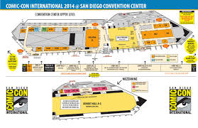 Day Care Center Floor Plan Comic Con International 2014 Maps By Comic Con International Issuu