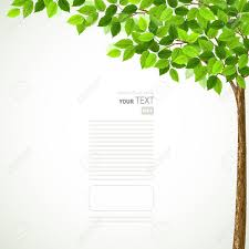 season tree with green leaves royalty free cliparts vectors and