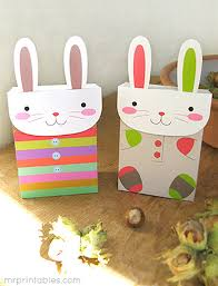party favor bags bunny party favor bags mr printables