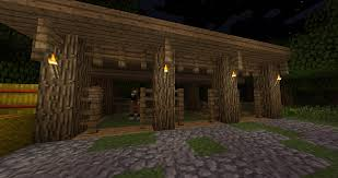 in honor of the new horses a simple stable design minecraft