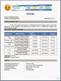 Sample Pdf Resume by Curriculum Vitae Samples For Electrical Engineers