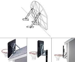universal backboard mounting kit for lifetime hoops