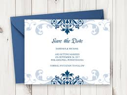 navy blue wedding invitations invitation templates shishko templates