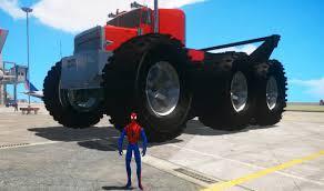 monster trucks lightning mcqueen spiderman biggest monster trucks play with spiderman and lightning mcqueen