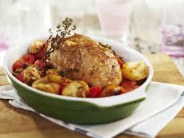 recette de cuisine roti de veau rôti de veau au thym chignons et pommes de terre confites