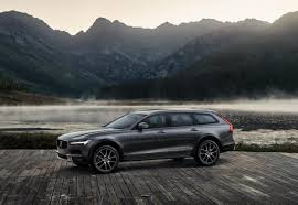subaru wagon lifted lift a wagon and you get the volvo v90 cross country