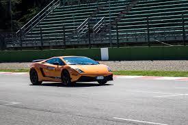 lamborghini aventador race car the lamborghini academy at imola racetrack italy