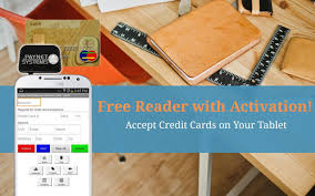 credit card machine accept android apps on google play