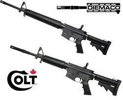 diemaco sa 15 7 and sa 20 semi automatic rifles new from colt