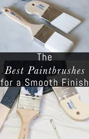 how to get a smooth finish when painting kitchen cabinets the best paintbrushes for a smooth finish erin spain
