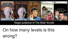 Elder Scrolls Memes - che elder servll vion target audience of the elder scrolls i m on