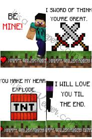 minecraft s day cards minecraft valentines printable free it is a keeper