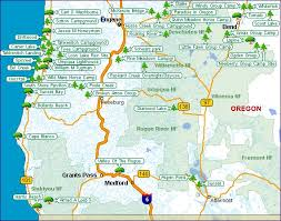 map of oregon state parks 85 best oregon maps images on oregon coast oregon
