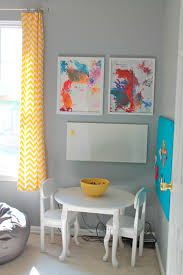 gray and yellow playroom the reveal welcometothemousehouse com