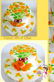 edible gel how to paint on cakes with edible colors veena azmanov