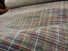 Plaid Home Decor Fabric 56