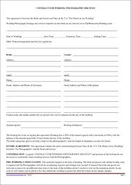 dj contract templates 5 dj contract templates free word pdf