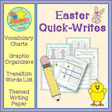 big writing paper mrs naufal s nook hopping into easter activities for your classroom organizer on easter traditions a transition word list and writing paper these tasks are perfect for a bulletin board display or even a big class book