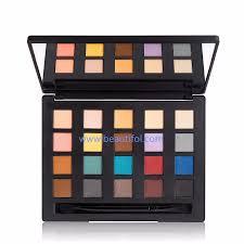rectangle 6 colors plastic makeup eyeshadow palette