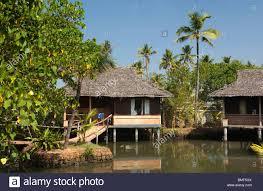 india kerala vypeen island cherai beach resort luxury stock