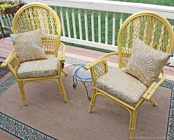 Can You Paint Wicker Chairs Painting Chairs