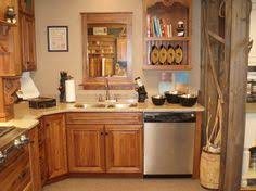 Rustic Hickory Kitchen Cabinets How To Make A Rustic Kitchen Island With Cabinets Google Search