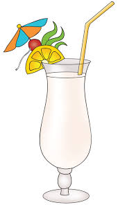 alcoholic drinks clipart tropical drink clipart clip art library