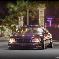lexus ls400 modified ls400 lexus slammed on instagram