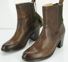 womens boots frye frye boots nib frye janis boot brown pull on