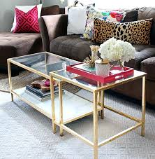 glass nesting coffee tables glass top nesting coffee tables best gold coffee tables ideas on