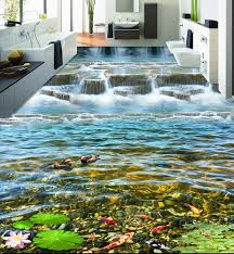 aliexpress com buy 3d floor water custom creative 3d floor river