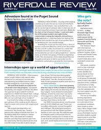 riverdale review spring 2016 by riverdale district issuu