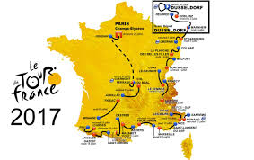 Marseilles France Map by Tour De France Archives Cycling Passion