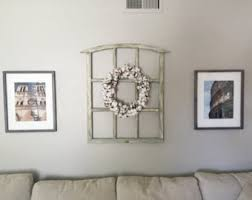 wood frame wall decor window frame etsy