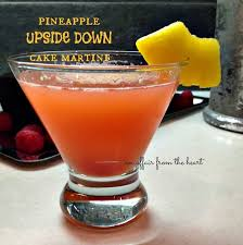 pineapple upside down cake martini an affair from the heart