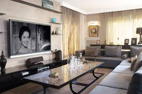 where to place tv in living room with fireplace how high should your tv be