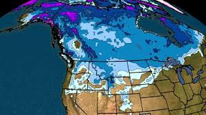 Snow Coverage Map Current Us Snow Cover Weathercom Us Snow Cover Map Weather Com