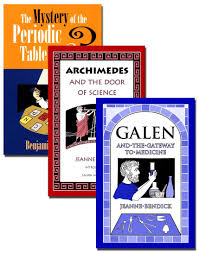 periodic table science book science book set the mystery of the periodic table archimedes and