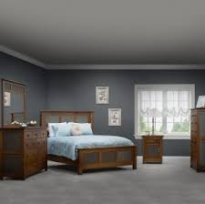 Solid Wood Contemporary Bedroom Furniture - modern master bedroom set handcrafted solid wood contemporary