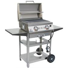 Backyard Grill 2 Burner Gas Grill Reviews by Solaire Allabout 2 Burner Freestanding Infrared Propane Gas Grill