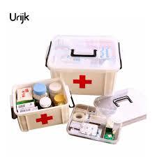 Portable Medicine Cabinet Urijk Portable Medicine Chest Cabinet Health Care Plastic Drug