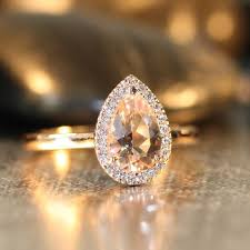 morganite engagement ring gold best 25 oval morganite ring ideas on gold