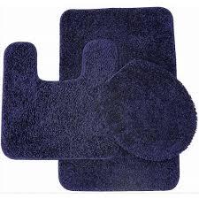 navy blue bathroom rug set bathroom rugs ebay navy blue bathroom