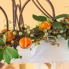 dried citrus ornaments hearth vine