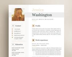 Free Business Resume Template Resume Template No 3 Cover Letter Reference Page Free