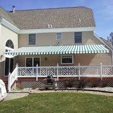 Retractable Awning With Bug Screen Jodimor Patio Awnings Motorized Shades Motorized Blinds New