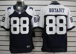 nike dallas cowboys 88 dez bryant blue thanksgiving elite jersey