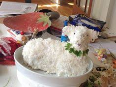 Easter Lamb Cake Decorating Ideas by Easter Italian Lamb Cake So Very Happy To Find This Recipe I