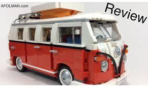 van volkswagen hippie vw lego creator 10220 volkswagen t1 camper van review youtube