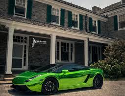 Lamborghini Gallardo Green - insane green chrome lamborghini gallardo with 19 inch forgestar